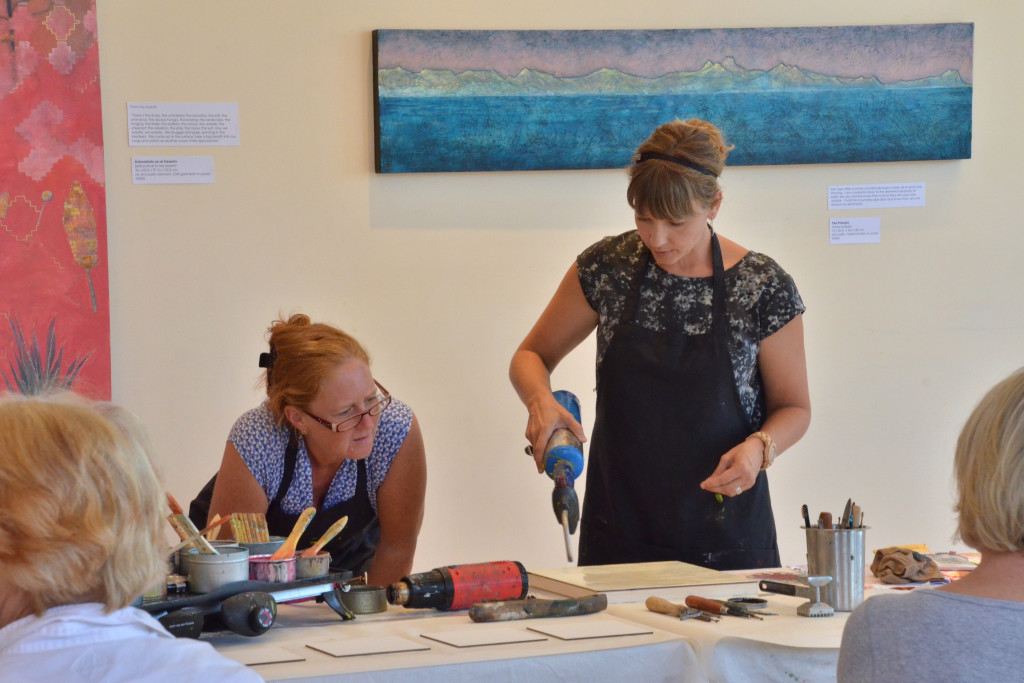 Introduction to Encaustic Workshop with Natalie Salminen Rude