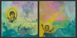 The Working Mother - diptych